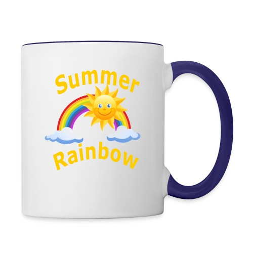Summer Rainbow - Contrast Coffee Mug