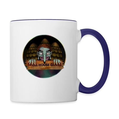 Troll House Games Logo - Contrast Coffee Mug