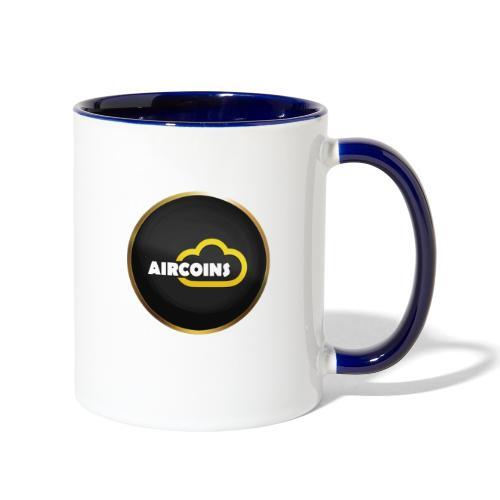 Aircoins Coin 1 - Contrast Coffee Mug