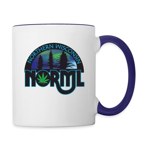 Northern Wisconsin NORML Official Logo - Contrast Coffee Mug