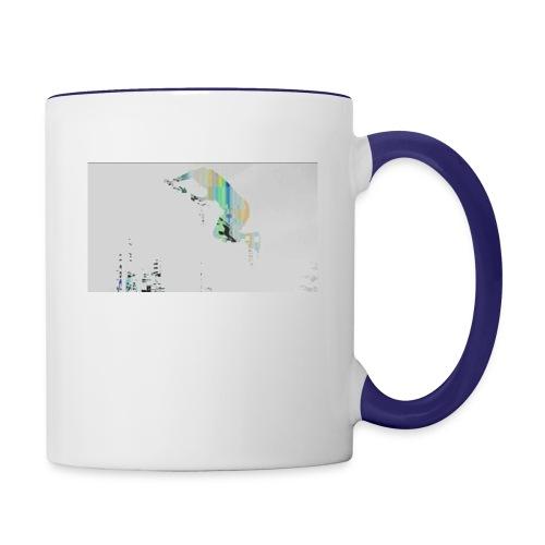 Pixel Jump - Contrast Coffee Mug
