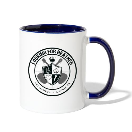 Looking For Heather - Crest Logo - Contrast Coffee Mug