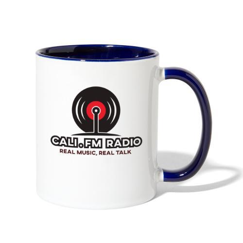 CALI.FM RADIO - Contrast Coffee Mug