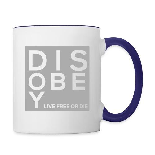 DIS-OBEY T-Shirt - Contrast Coffee Mug