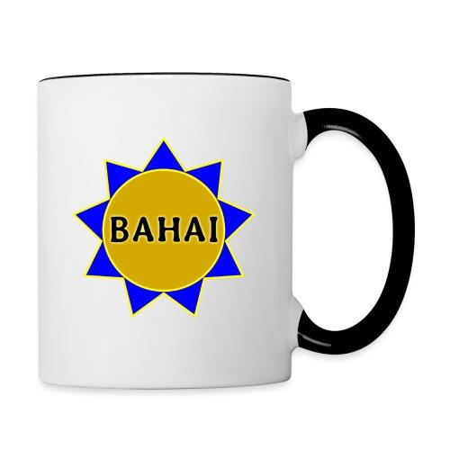 Bahai star - Contrast Coffee Mug