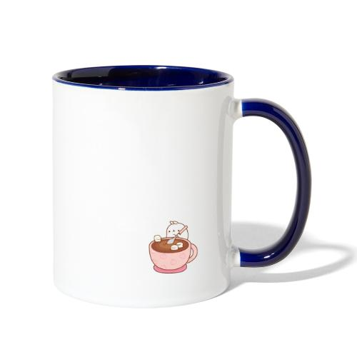 Hot choco - Contrast Coffee Mug