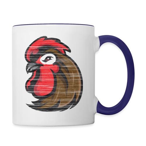 Pecker colour hoodie - Contrast Coffee Mug