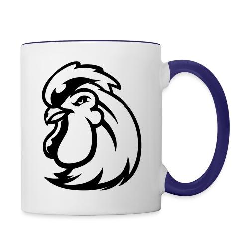 Peckers head t - Contrast Coffee Mug