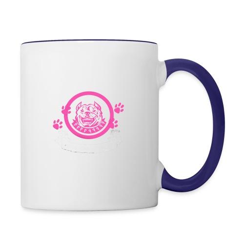 pitbullmom - Contrast Coffee Mug
