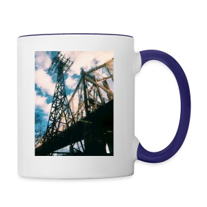 Ed Koch bridge - Contrast Coffee Mug