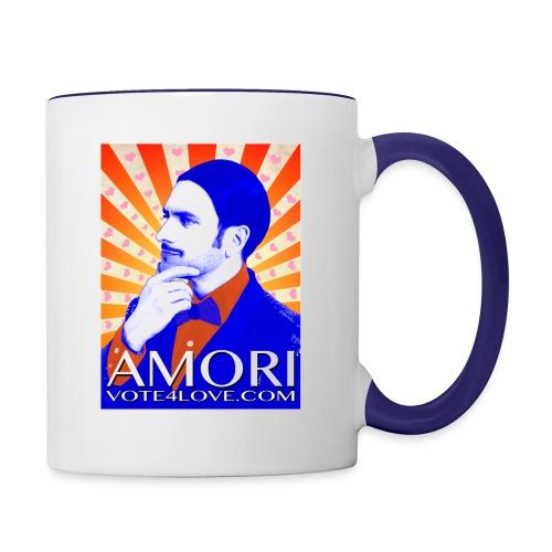 Amori_poster_1d - Contrast Coffee Mug