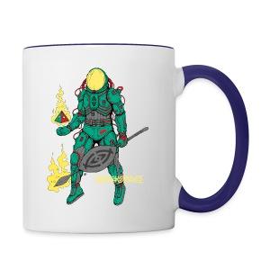 Afronaut - Contrast Coffee Mug