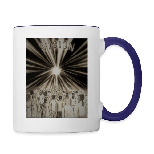 Black_and_White_Vision2 - Contrast Coffee Mug