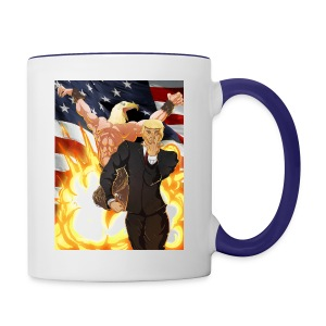 Trumps stand - Contrast Coffee Mug