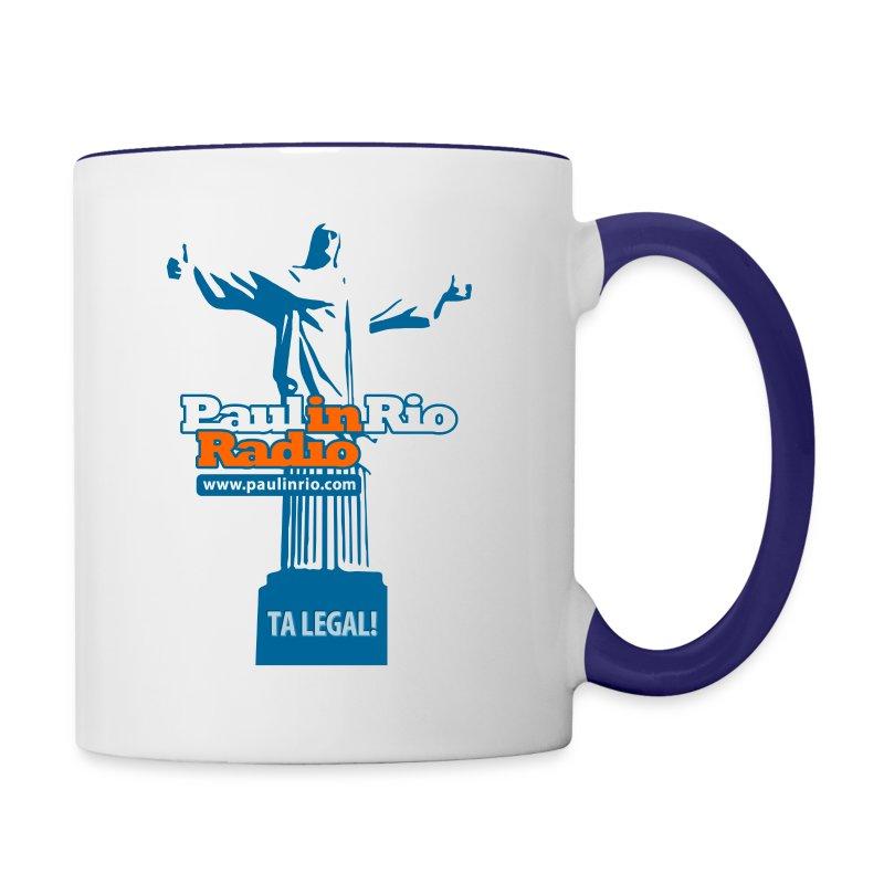 Paul in Rio Radio - The Thumbs up Corcovado #2 - Contrast Coffee Mug