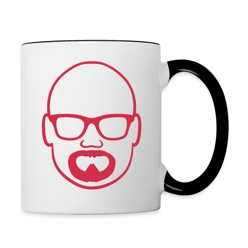 MDW Music official remix logo - Contrast Coffee Mug