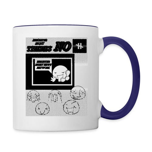 BRIGHTER SIGHT NEWS NETWORK - Contrast Coffee Mug