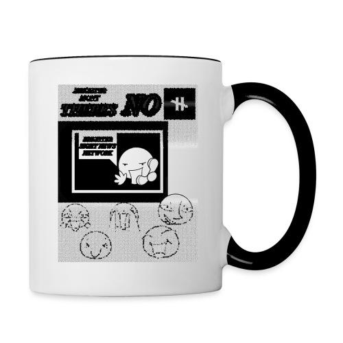 BRIGHTER SIGHT NEWS NETWORK - Contrast Coffee Mug
