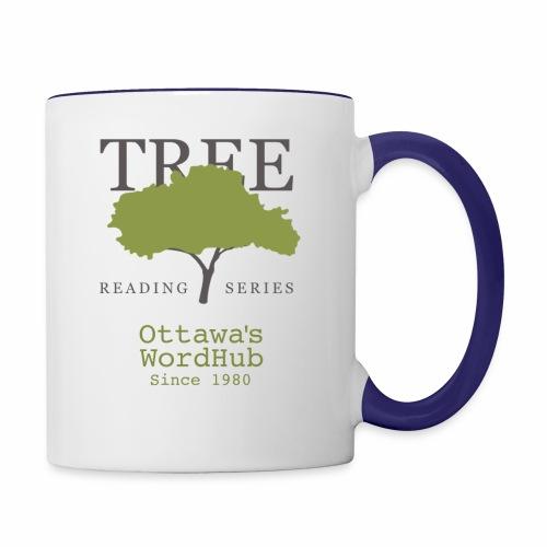 Tree Reading Swag - Contrast Coffee Mug