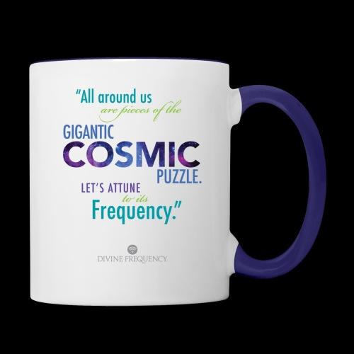 Cosmic Puzzle Mug - Contrast Coffee Mug
