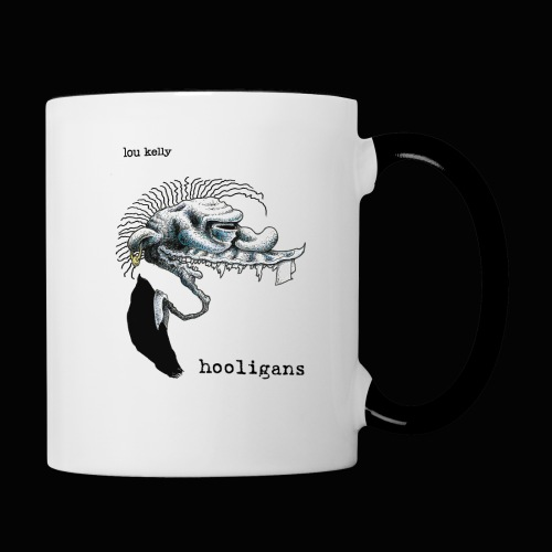 Lou Kelly - Hooligans Album Cover - Contrast Coffee Mug