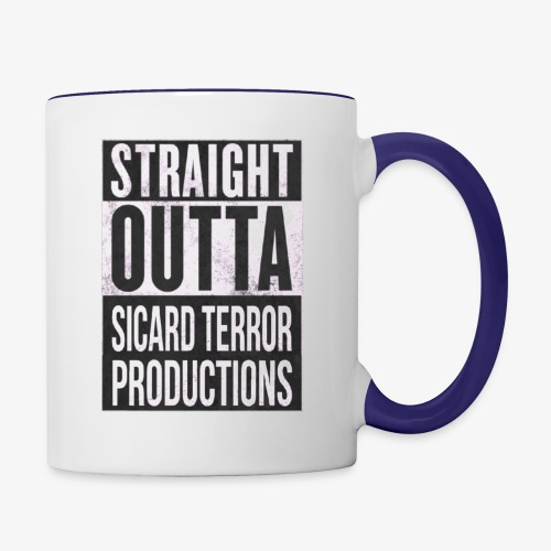 Strait Out Of Sicard Terror Productions - Contrast Coffee Mug