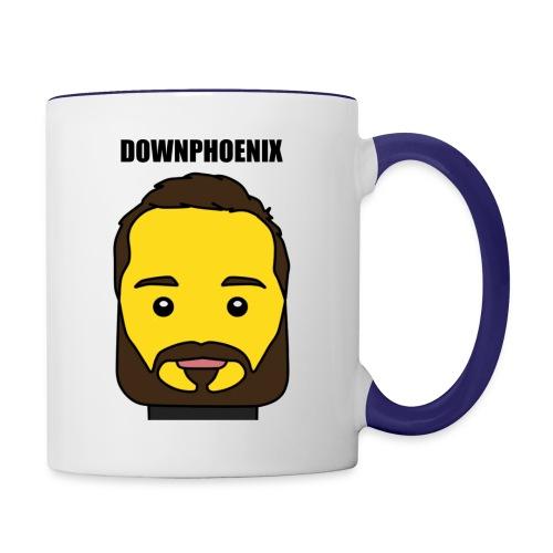 Downphoenix Face Mode - Contrast Coffee Mug