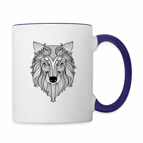 Classy Fox - Contrast Coffee Mug