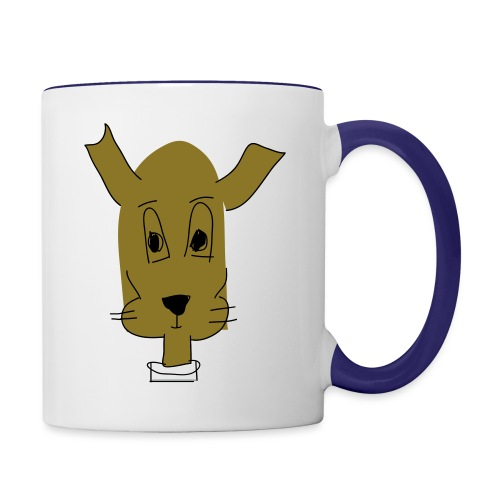 ralph the dog - Contrast Coffee Mug