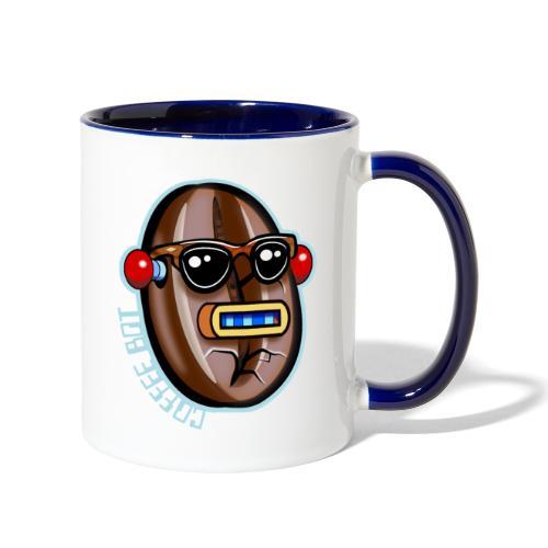 Coffee Bot - Contrast Coffee Mug