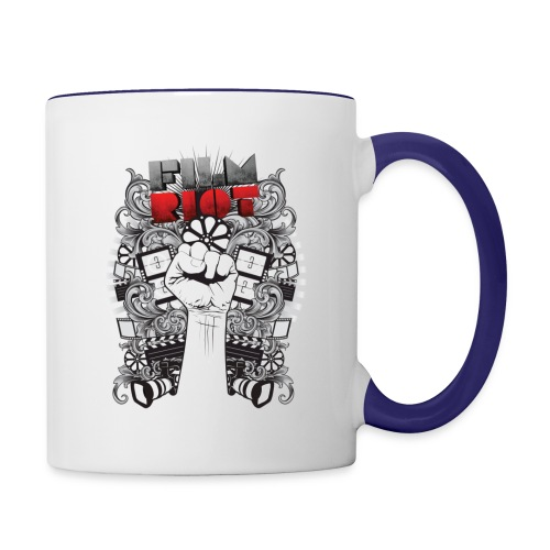 Film Riot - Contrast Coffee Mug