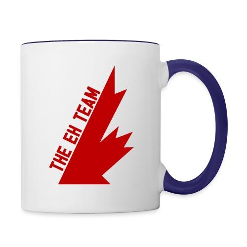The Eh Team Red - Contrast Coffee Mug
