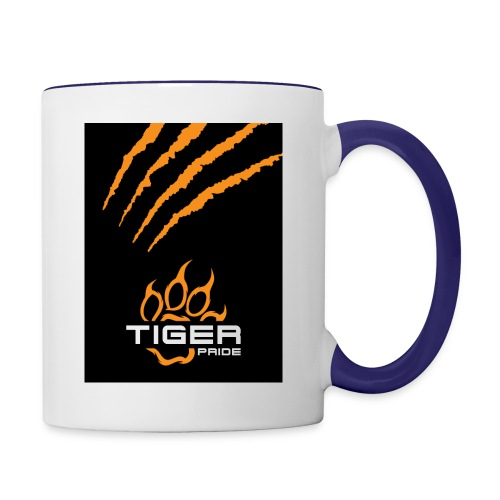 Tiger Pride iPad Case - Contrast Coffee Mug