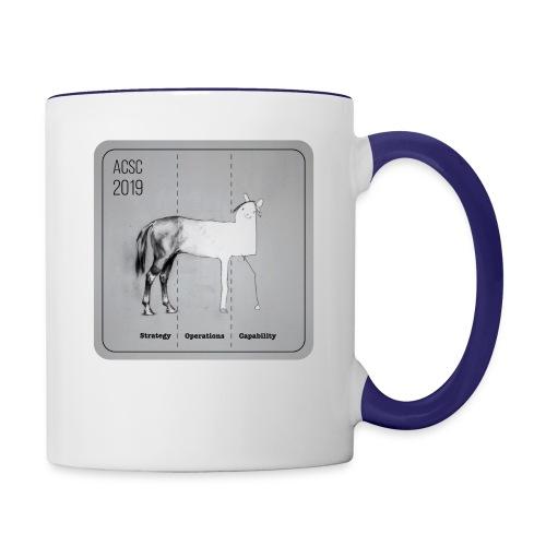 Horse Drawn Capability - Contrast Coffee Mug
