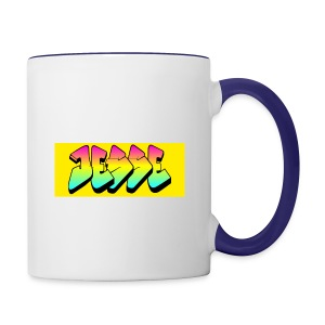 jesses logo - Contrast Coffee Mug