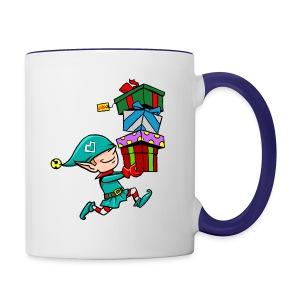 Premium Design Elf - Contrast Coffee Mug