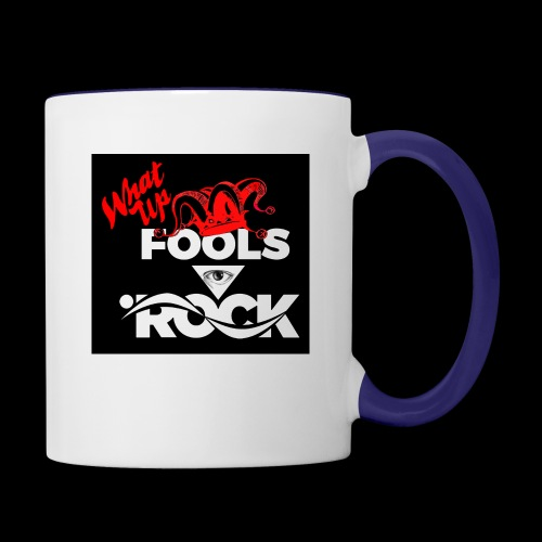 Fool design - Contrast Coffee Mug