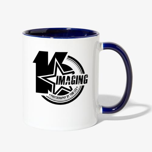 16IMAGING Badge Black - Contrast Coffee Mug