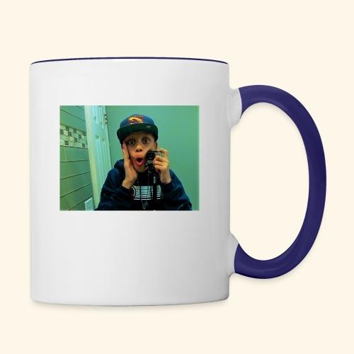 Pj Vlogz Merch - Contrast Coffee Mug