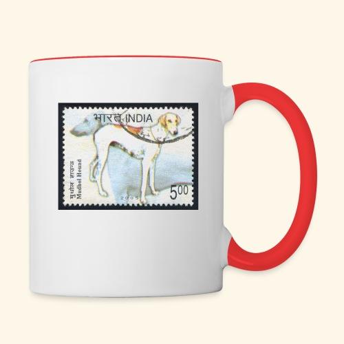 India - Mudhol Hound - Contrast Coffee Mug