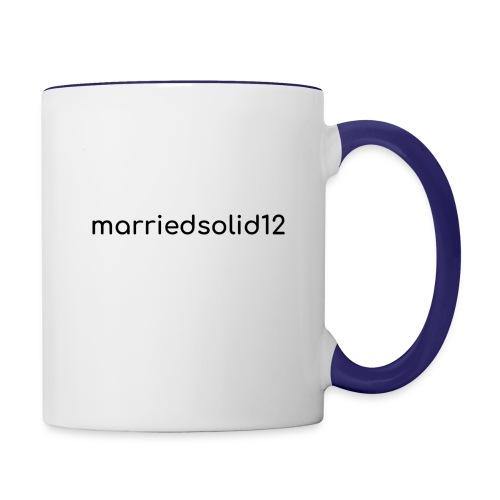 Basic MarriedSolid12 Design - Contrast Coffee Mug
