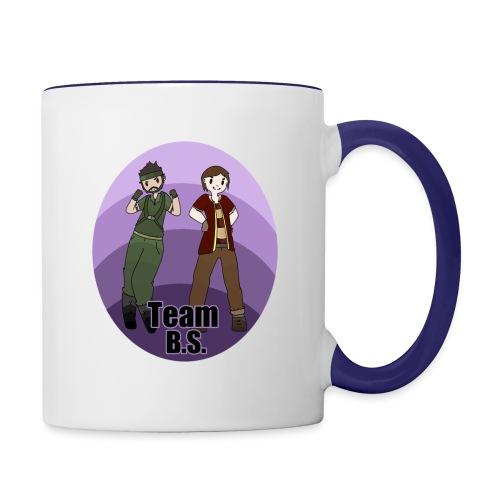 TeamBSFront2Zombii - Contrast Coffee Mug
