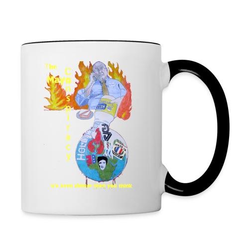 Mayo-Conspiracy - Contrast Coffee Mug