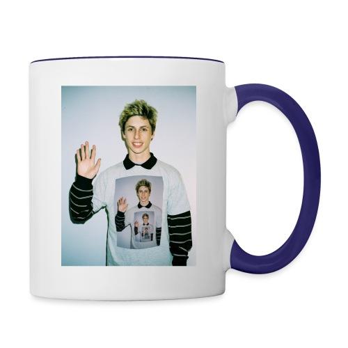 lucas vercetti - Contrast Coffee Mug