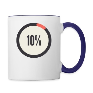 10% Album - Contrast Coffee Mug