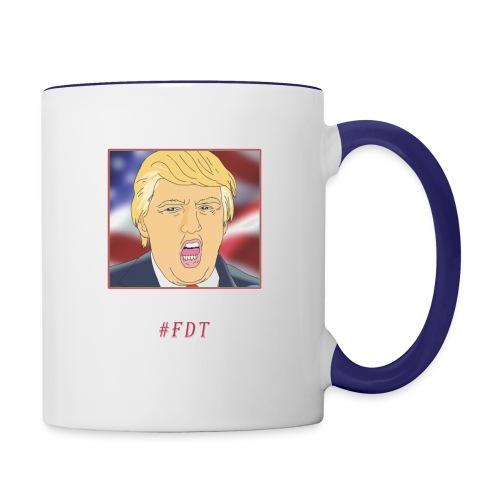 Fuck Donald Trump! - Contrast Coffee Mug
