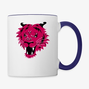 This Pussy Grabs Back - Contrast Coffee Mug