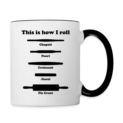 This is How I Roll - Contrast Coffee Mug