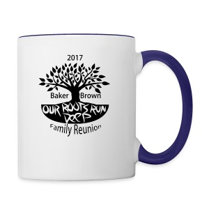 Baker Brown Family Reunion - Contrast Coffee Mug