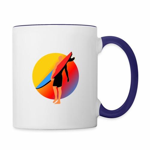 SURFER - Contrast Coffee Mug